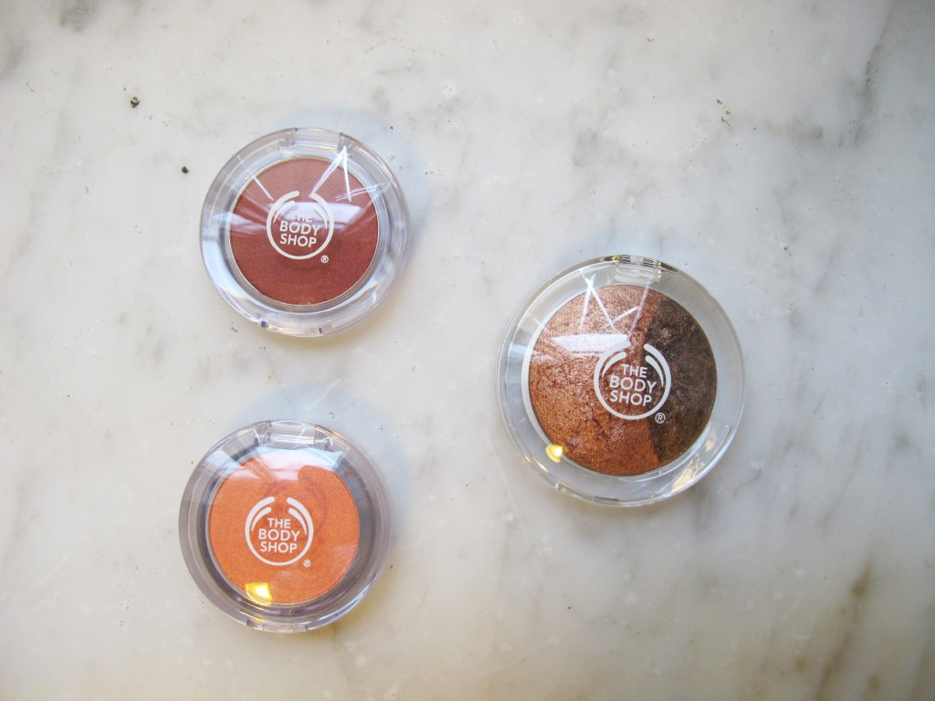 The Body Shop - Eyeshadows1
