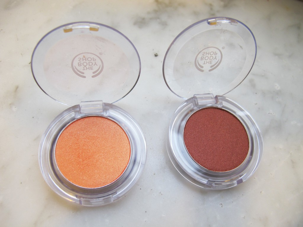 The Body Shop - Eyeshadows2