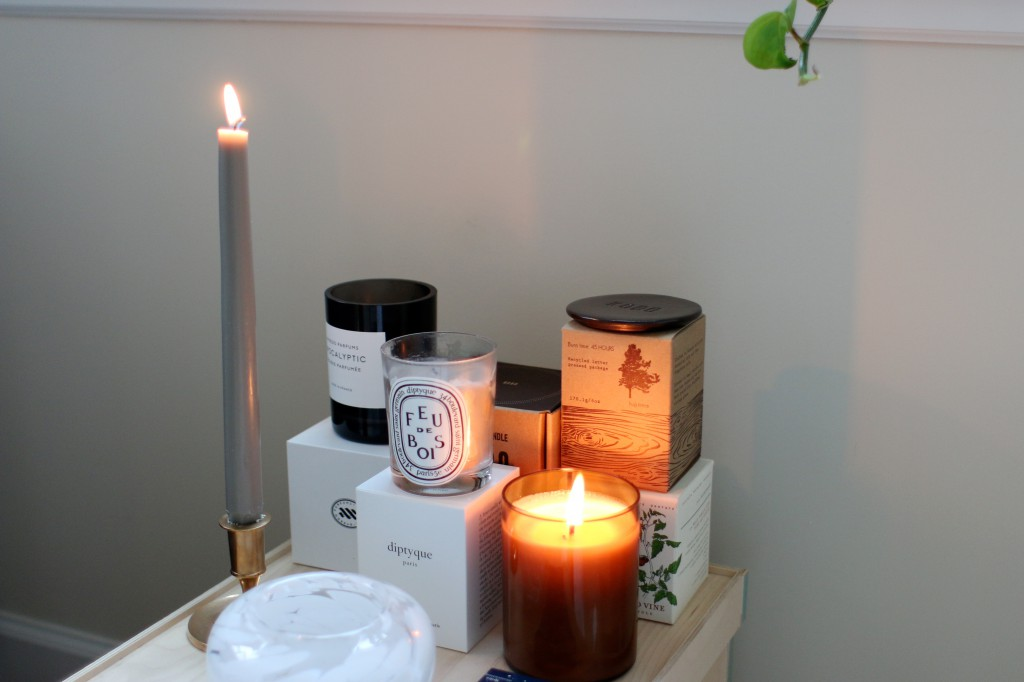 Scented candles Byredo Diptyque Kobo