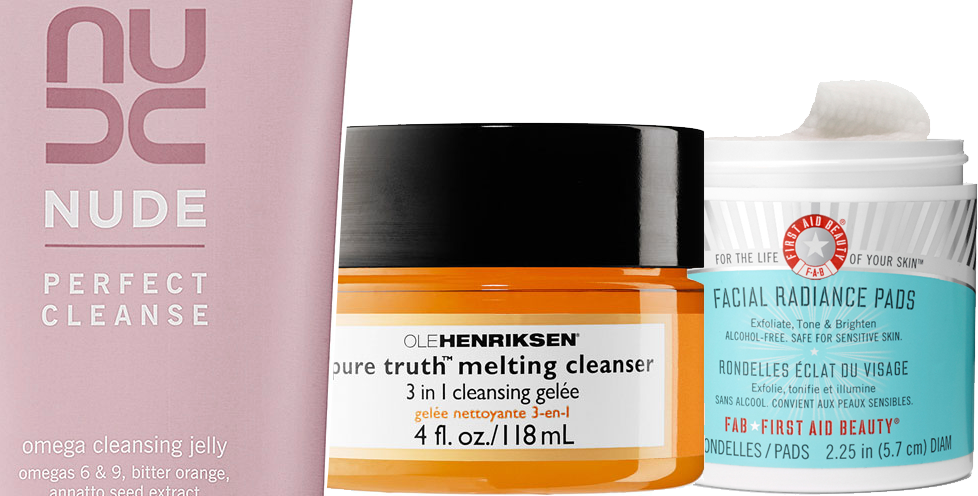 Cleansers Nude skincare Ole Henriksen First Aid Beauty