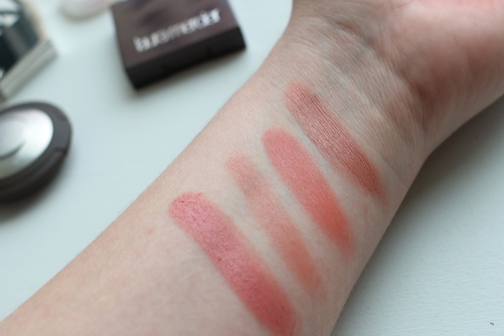 Kjaer Weis Laura Mercier Becca swatches