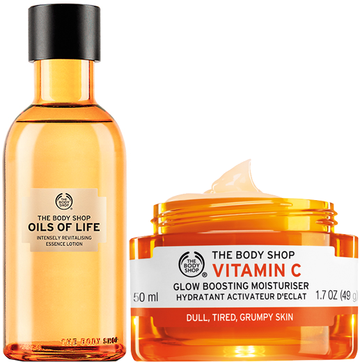 tbs vitamin c oils of life essence lotion