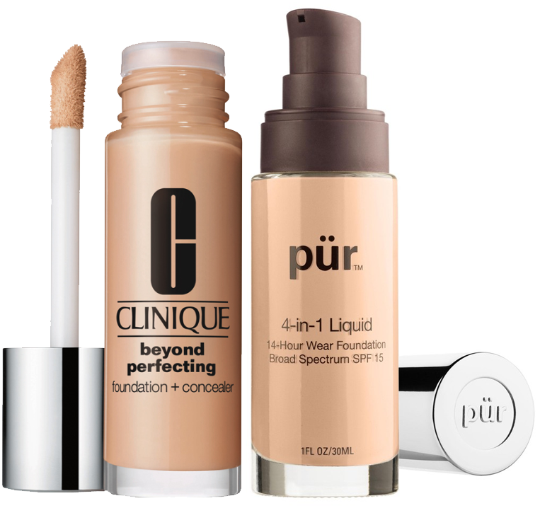 clinique purminerals foundations