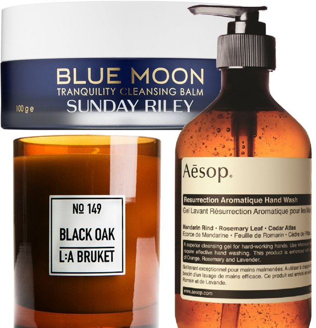 wish list sunday riley la bruket aesop