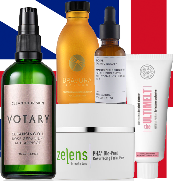 UK beauty votary bravura zelens evolve soap and glory
