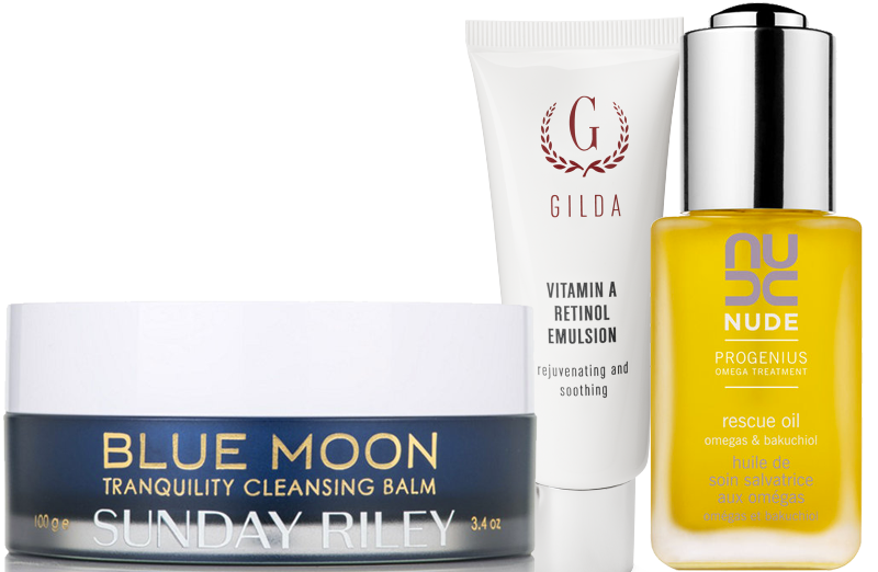 sunday riley gilda cosmetic nude skincare