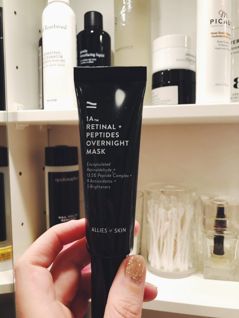 Allies of Skin 1a Retinal overnight mask